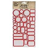 Tim Holtz, Advantus Classic Stickers Vintage Labels, assorted