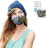 ALB Stoffe® ProtectMe - OP Masken OMG, 100% Made in Germany, zertifizierte Premium-Atemschutzmaske bedruckt, Medizinische Gesichtsmaske Typ II, 20er Pack, verschiedene Designs