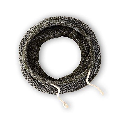 noorsk Maillot de Bain 2 pièces avec écharpe Tube Longue Apparence Laine Unisexe Variantes possibles Schwarz/Grau mit Kordelzug Taille Unique