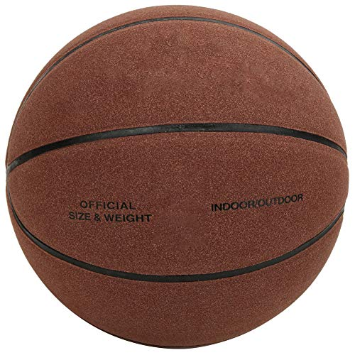 %9 OFF! Alomejor Basketball Training Basketball Official Size 7 Composite Basketballs Easy to Grip, Shoot & Dribble, Made for Indoors and Outdoors(Red Brown)
