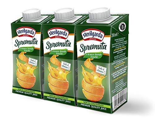 Sterilgarda Spremuta Arancia - Pacco da 24 x 200 ml