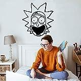 mlpnko Decoración de Pared de Vinilo de Dibujos Animados para habitación de niños decoración de Dormitorio Etiqueta de la pared28X30cm