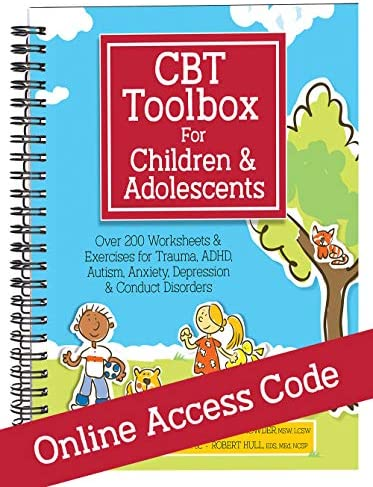 CBT Toolbox for Children and Adolescents Bundle Workbook Printed Online Access Code product image
