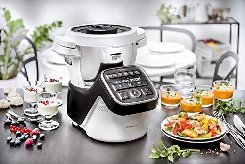Krups HP50A8 Prep&Cook XL Multifunktions-Küchenmaschine, 1550, Edelstahl, 3 liters, Weiß/Schwarz - 7