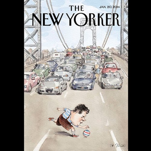 Couverture de The New Yorker, January 20th 2014 (John Colapinto, Connie Bruck, Emily Nussbaum)