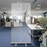 Cancella scudo protettivo per film, divisorio in plastica pop-up, trasparente (Size : 80 * 180cm)