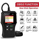 LAUNCH OBD2 Diagnose CR319 Scanner Gerät Universal Automotor Fehlercode-Lesegerät,O2-Sensor und...