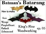How to Make Batman's Batarang