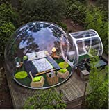 ZXMOTO Inflatable Bubble Camping Tent Outdoor Transparent Single Tunnel Family Camping...