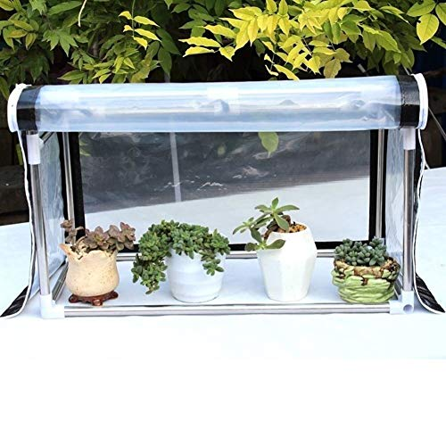 Mini Greenhouse for Flowers Plants - Portable Clear Green House with Stainless Steel Frame, for Patio Garden, 100/120/150/200 cm Long (Size : 200x80x90/78.7x31.5x35.4'')