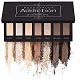 Younique Moodtruck Addiction Paleta de sombra 1 – con tonos de marrón y melocotón