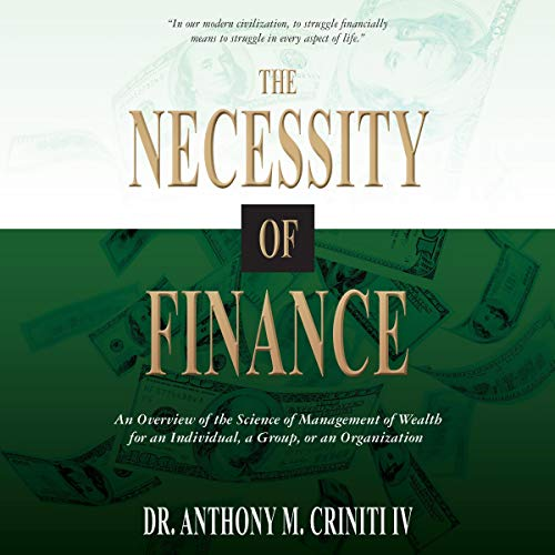 The Necessity of Finance cover art