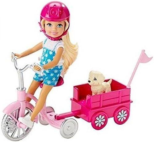 descuento Barbie Barbie Barbie Chelsea & Pup Mobile Playset by Mattel  edición limitada en caliente