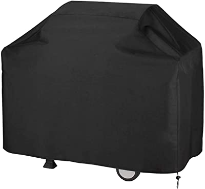 BBQ Gas Grill Cover, Performance Grill Cover,BBQ Cover,Dust & Water Resistant, Weather Resistant, Rip Resistant,Grill Covers Heavy Duty for Weber, Holland, Jenn Air, Brinkmann etc (57x24x46 inches)