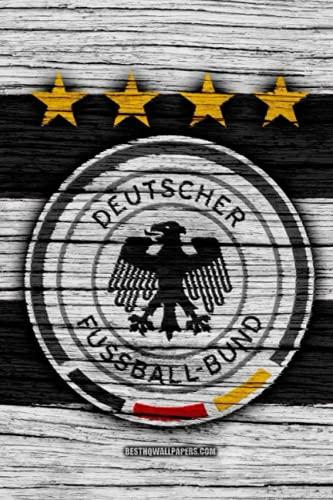 Deutscher Fussball-Bund: Lined notebook , Journal , 110 Pages, 6x9,