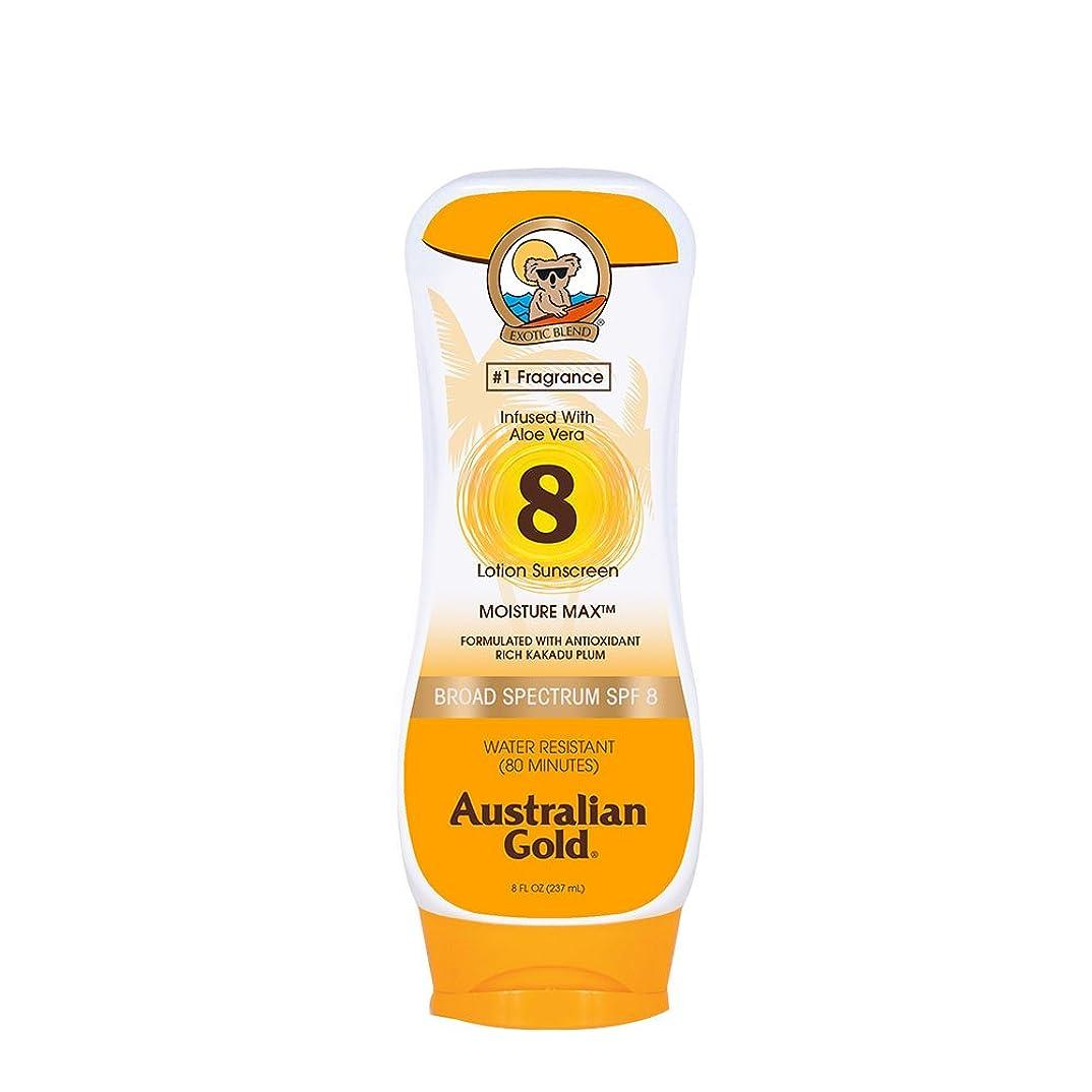 組み合わせふりをする広まったAustralian Gold Lotion Sunscreen Broad Spectrum SPF 8 237ml/8oz並行輸入品