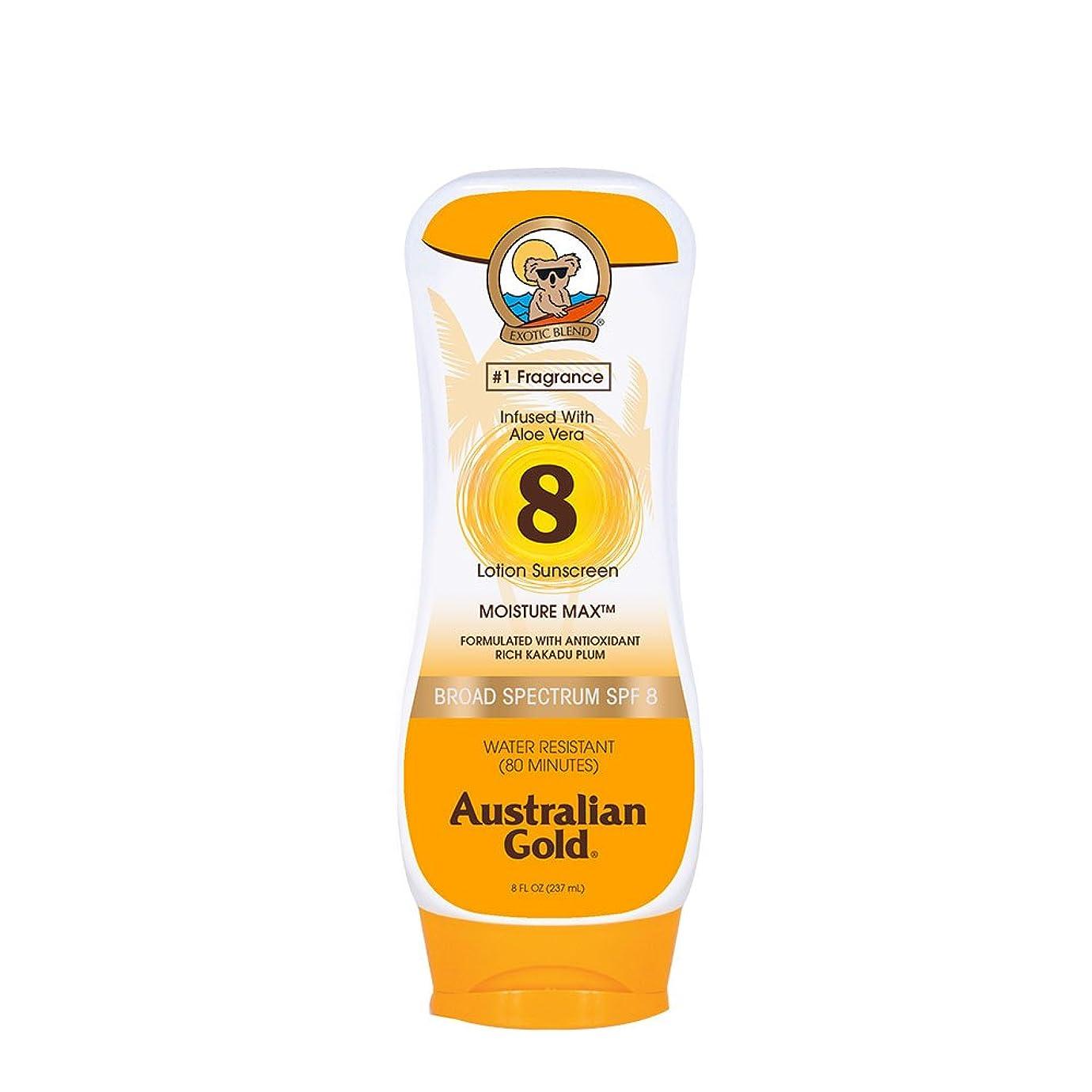予報病院予測子Australian Gold Lotion Sunscreen Broad Spectrum SPF 8 237ml/8oz並行輸入品