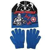 Star Wars Conjunto Gorro y Guantes Storm Trooper Azul 3-4 años (98/104 cm)