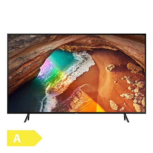 Samsung Q60R 189 cm (75 Zoll) 4K QLED Fernseher (Q HDR, Ultra HD, HDR, Twin Tuner, Smart TV) [Modell