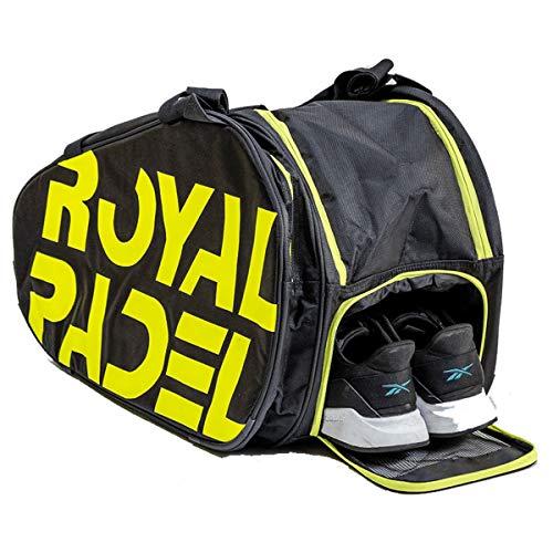 Royal Padel | Pádel Paletero/Mochila Térmica | Amarillo y Negro