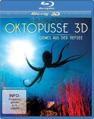 Oktopusse 3D - Genies aus der Tiefsee [3D Blu-ray]