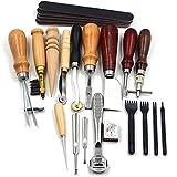 Herramientas de mano de cuero, herramienta de trabajo de cuero para tallar arcilla, escultor profesional antideslizante para escultor DIY