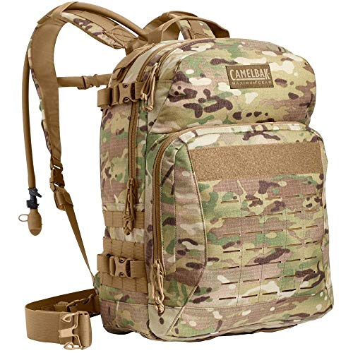 CamelBak Motherlode 100 Ounce 3 Liter Long Mil Spec Hydration Backpack, Multicam