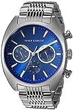 Vince Camuto VC/1040BLSV - Reloj de pulsera multifunción, color plateado