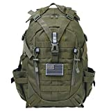 Pickag Tactical Backpack Military Molle Bag Hiking Daypacks for Camping Trekking Hunting Traveling Motorcycle