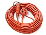 First4Spares 20 Metre Mains Power Lead Cable for Flymo <span class='highlight'>Lawn</span><span class='highlight'>mowers</span> Hedge & Grass Trimmers