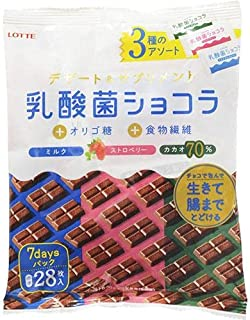 ロッテ 乳酸菌ショコラ 3種アソートパック 112g