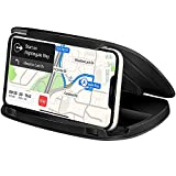 Bosynoy Cell Phone Holder for Car, Durable Silicone Mat Car Phone Mount, Dashboard Cell Phone Holder Compatible with iPhone 11 Pro Max/11/XR/XS Mas/XS/8/7 Samsung Galaxy S10+, GPS Devices