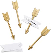 product image for Beehive Handmade Arrow Cheese Markers, Set of 4, Brass