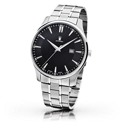 Astboerg - Herren -Armbanduhr- AT712SSM