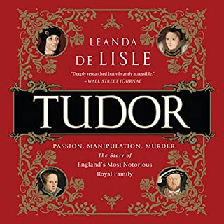 Tudor audiobook cover art