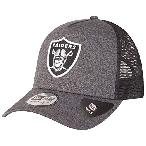 New Era Gorra de camionero Shadow de la NFL Oakland Raiders, talla...