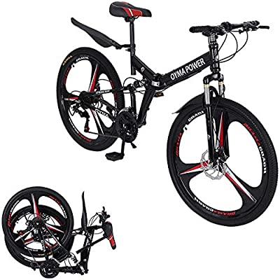 Amazon - Save 80%: ?Ship from USA? 26″ Mountain Bike, 21 Speed Bicycle Full Double Suspen…