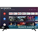 Skyworth E20300 32' Inch 720P LED A53 Quad-Core Android TV Smart 32E20300 with Voice Control Smart...
