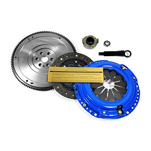 EFT STAGE 2 CLUTCH KIT+ FLYWHEEL WORKS WITH 1992-2005 HONDA CIVIC DX LX EX D15 D16 D17 4CYL