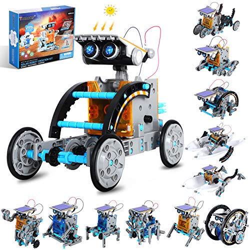 Tomons STEM Projects | 12-in-1 Solar Robot Toys, Education Science Experiment Kits for Kids Ages...