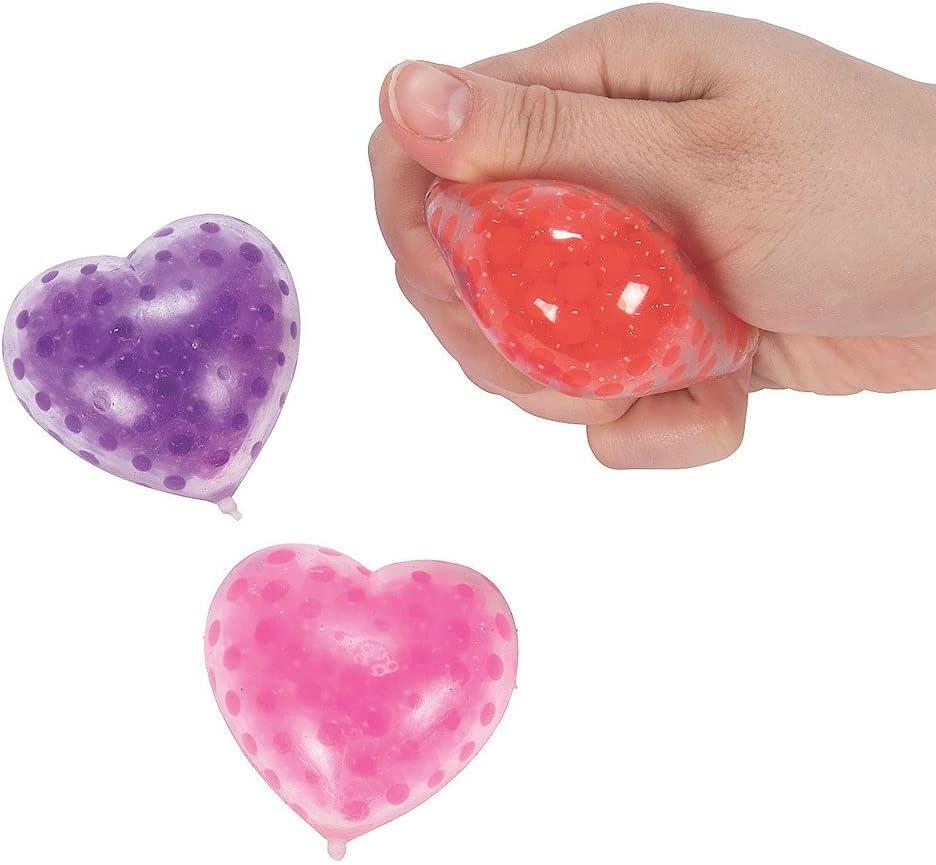 Profitz Kart Sales 12 Piece Valentine Beads Heart-Shaped Toys Elegant Water