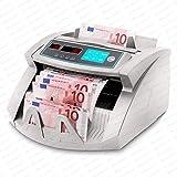 Contadora de billetes SR-3750 UV -MG- IR - Securina24 (negro - LCD)