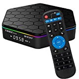 T95Z Plus Android TV Box 3GB RAM/32GB ROM Android 7.1 Octa Core Amlogic S912 TV Box with 4K Dual Band WiFi 2.4GHz/5GHz Bluetooth 4.0 64 Bits (Renewed)