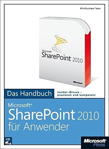 Microsoft SharePoint 2010 für Anwender - Das Handbuch: Das ganze Softwarewissen
