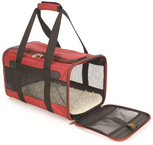 SHERPA Original Deluxe Pet Carrier (Medium, Red)