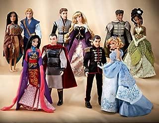 Disney FAIRYTALE COUPLES DESIGNER COLLECTION DOLL SET Aurora Cinderella
