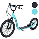 Osprey BMX Adult Scooter with Big Wheels, Bike Bicycle Off Road Scooter With