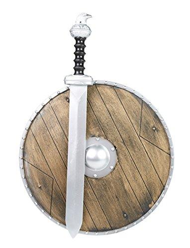 Wikinger-Set: Schild und Schwert