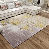 MWPO Soft pour la Maison Rectangle Classic Home Rug Moderne Simple Multifonctionnel...