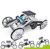 WomToy Science Building Stem Car Toys,4WD Motor Climbing Vehicles Electric Solar Science Mechanical Construction ,DIY STEM Car Toys for Boys&Girls,Christmas Birthday Gifts for Kid Ages 8-12 Years Old